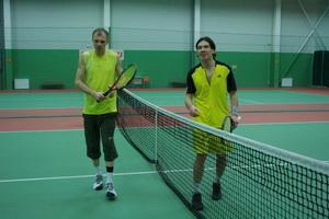 но переиграть Александра Солдатова (на фото слева) Маркову не удалось