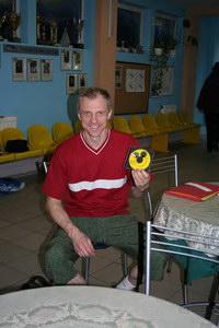 Александру Солдатову был вручен Creyda-диск с видеозаписью его теннисных ударов