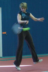 Наталья Степанова - концентрация на лету