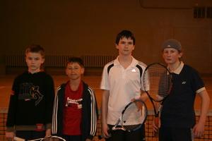 Слева направо: Чернокоз Александр, Старченко Родион, Ковалев Кирилл, Ледянов Александр