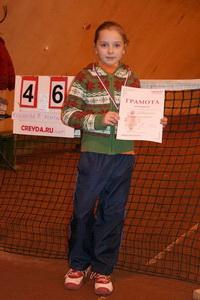 Даша Булатникова победила в юниорском разряде