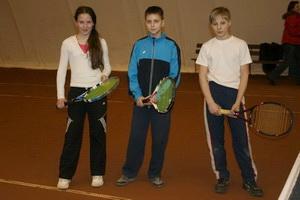 На фото слева направо: Вероника Мельничук, Георгий Стрельников и Сергей Андреев