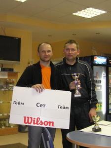Илья Ильин (Л) и Дмитрий Доманин