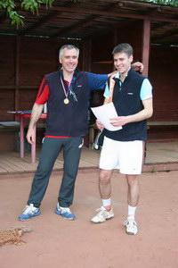 Отец Дмитренко доволен - и турнир удался, и результат хороший, и сына воспитал финалиста!