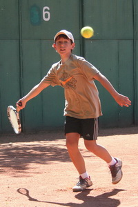 Внимательно смотреть на мяч обучен Родион