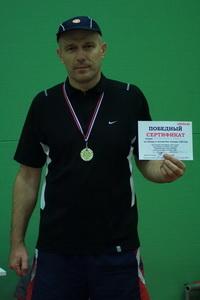 Сергей Климентьев одержал победу в среднем дивизионе