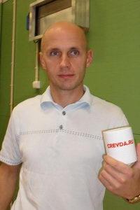 Дмитрий Трухин был приятно удивлен подарку