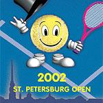 Логотип турнира Saint-Petersburg Open 2002