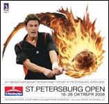 Логотип турнира Saint-Petersburg Open 2008