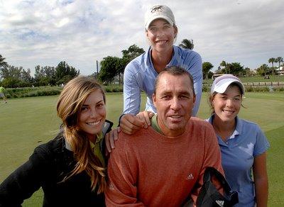Иван Лендл с дочерьми
