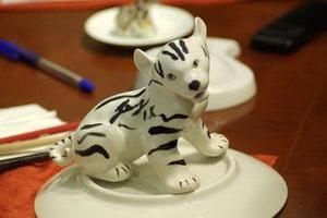 У Куницына зебра из тигры получилась знатная