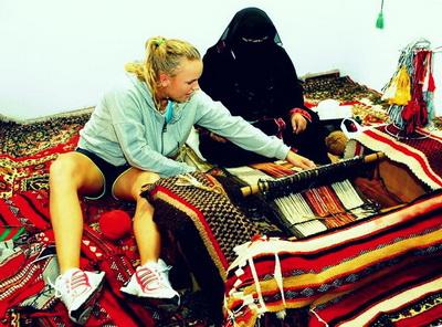 Каролина Возняцки в Дохе