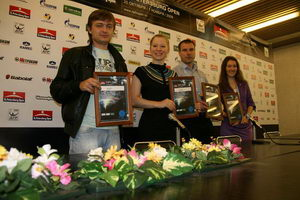 Победители и финалисты турнира журналистов