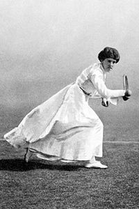 Доротея Дуглас. Вот так она выигрывала олимпийское золото в 1908 году