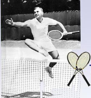 Дон Хук еще в семидесятые годы от души веселился двумя ракетками НаКорте