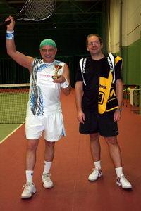 Счастливый победитель турнира Вениамин Атрахимович