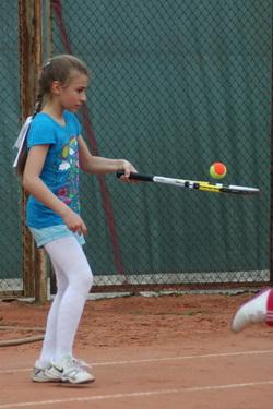 В олимпиадах теннисных