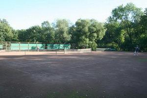 Корты в парке. Экология, здоровье и бодрости заряд
