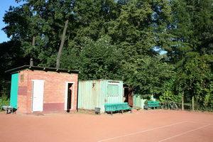 Инфраструктура. Джентельменский теннисный набор - раздевалки-душ-туалет. Все в наличии