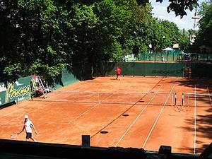 Летом на Елагином - теннисная благодать