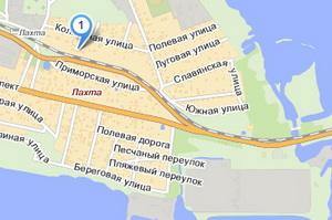 Лахта-Теннис  наЯндекс.Картах