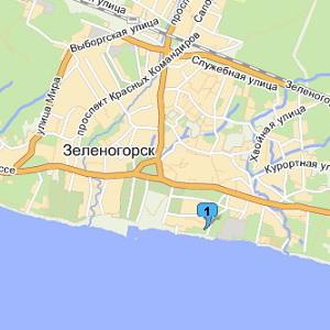 Зеленогорский ЦПКиО наЯндекс.Картах