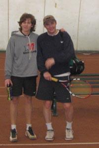 Артем Богатов (слева) и Александр Кочкин